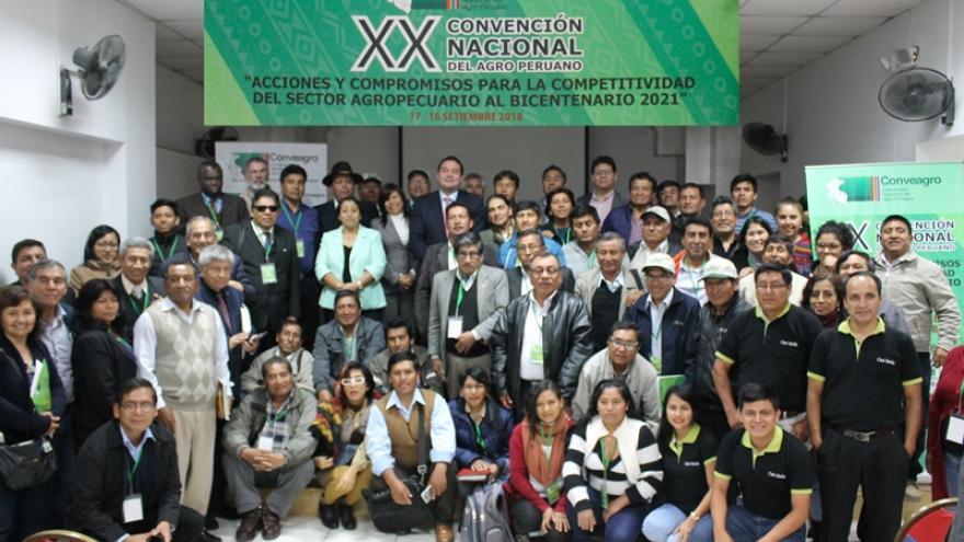 CONCLUSIONES Y ACUERDOS DE LA XX CONVENCIÓN NACIONAL DEL AGRO PERUANO 2018