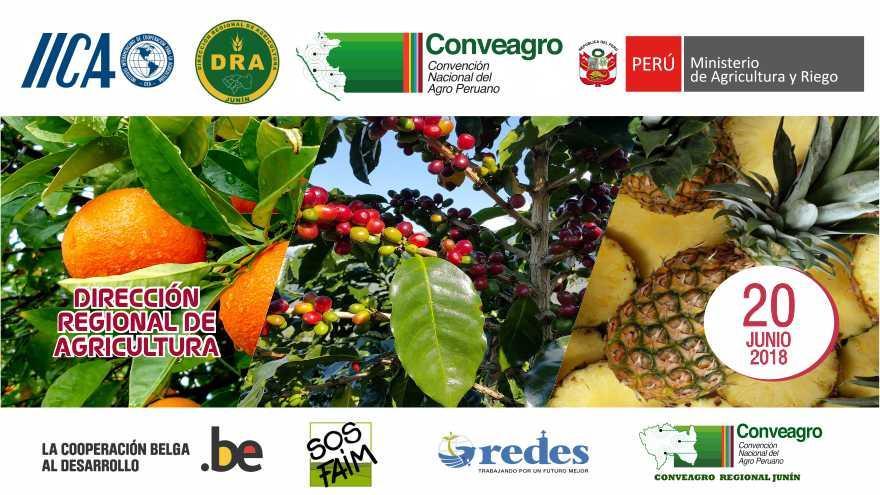 CONVEAGRO REALIZARÁ TALLER PARA LA CONFORMACIÓN DEL GRUPO IMPULSOR POR LA SEGURIDAD ALIMENTARIA Y AGRICULTURA FAMILIAR EN JUNÍN
