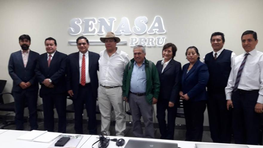 CONVEAGRO ARRIBÓ A ACUERDOS INTERINSTITUCIONALES CON EJECUTIVOS DEL SENASA