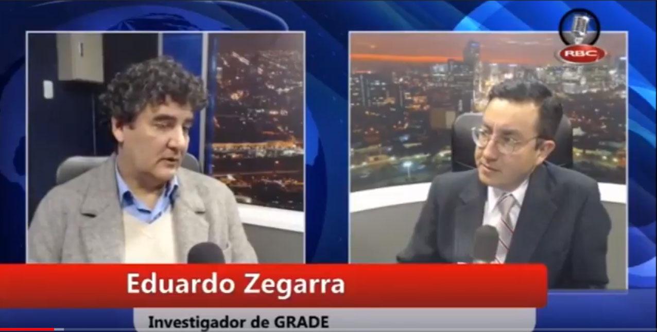 Eduardo Zegarra en Ideeleradio: Ley Agraria
