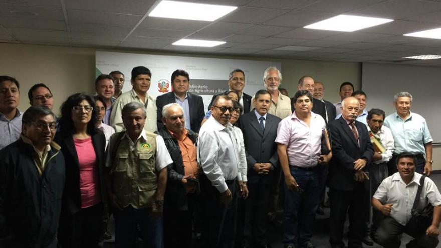 CONVEAGRO ESTABLECE ALIANZAS DE DIÁLOGO Y TRABAJO CONJUNTO CON EL MINAGRI