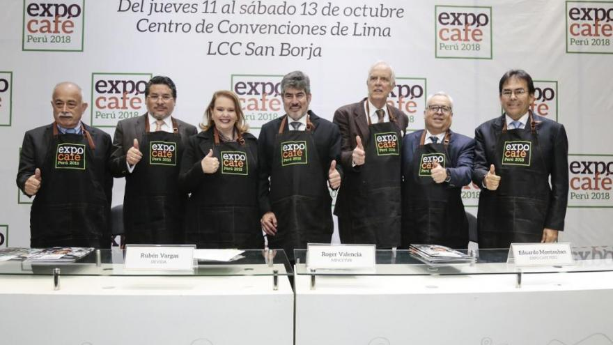 EXPO CAFÉ PERÚ 2018 GENERARÍA NEGOCIOS POR US$ 50 MILLONES