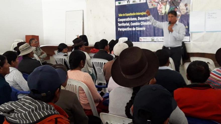 SEGUNDO DÍA: TALLER DE CAPACITACIÓN INTERREGIONAL EN AYACUCHO