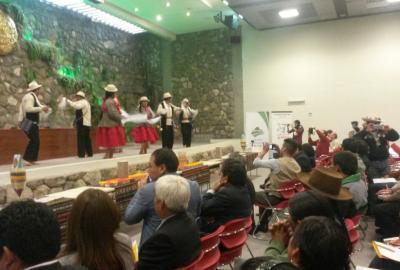 CONVEAGRO EN EL II ENCUENTRO DE ORGANIZACIONES DE PRODUCTORES DE GRANOS ANDINOS