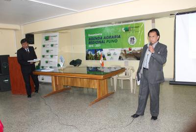 TALLER AGENDA REGIONAL AGRARIA CONVEAGRO PUNO