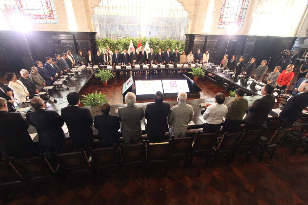 Acuerdo Nacional: «La mega corrupción de los Gobiernos  en el Perú, NOS HA ROBADO el DERECHO a ser una sociedad rural desarrollada»